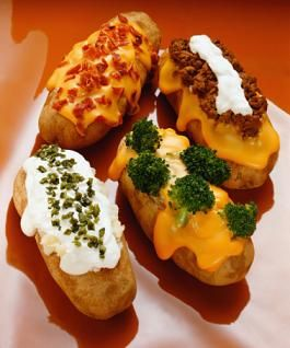 Simple Dinner Idea–Baked Potatoes Your Way