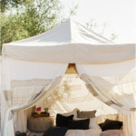glamping is a new wedding trend