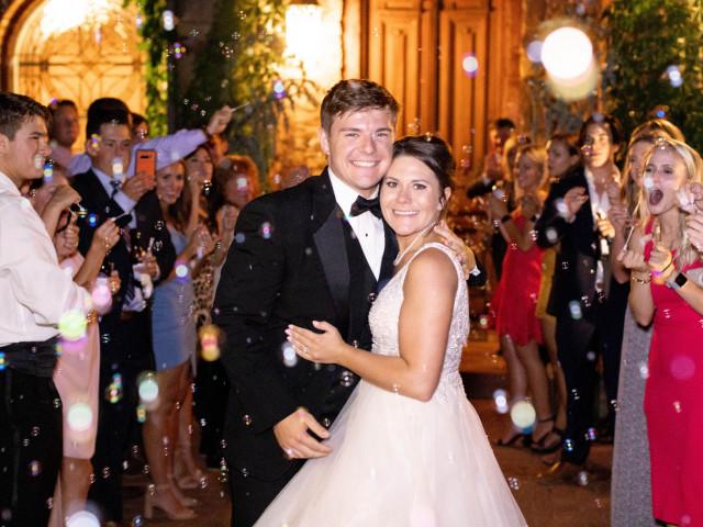 Lindsey and Tanner's Summer Wedding at Stone Chapel at MattLane Farm